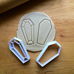 Set of 2 Coffin Cookie Cutters/Dishwasher Safe