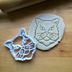 Long Haired Cat Cookie Cutter/Dishwasher Safe