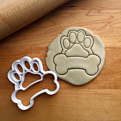 Dog Bone Frame Cookie Cutter/Dishwasher Safe