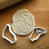 Set of 2 Pinched Hand Cookie Cutters/Dishwasher Safe