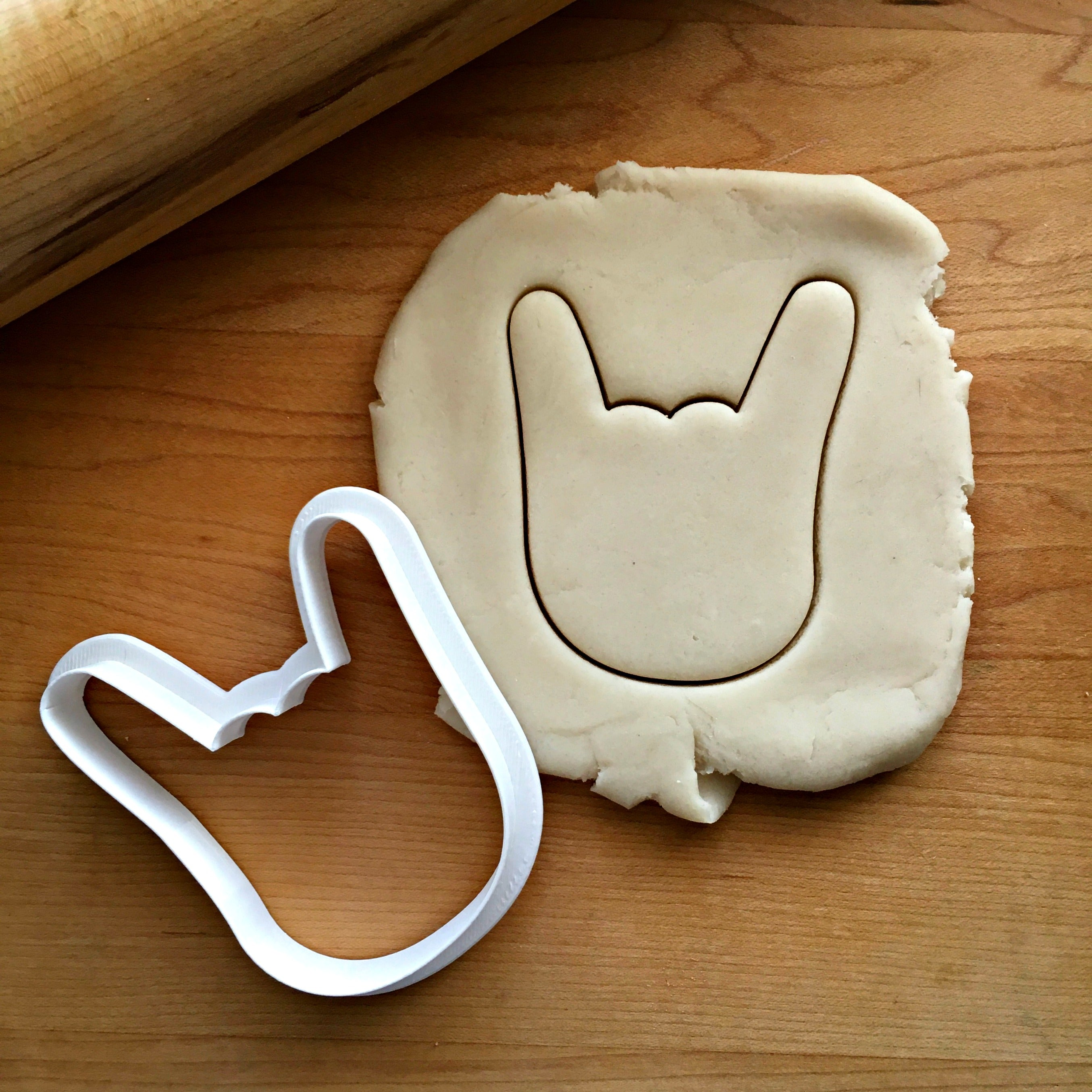 Sign of the Horns Cookie Cutter/Dishwasher Safe