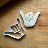 Hang Loose/Hang Ten Cookie Cutter/Dishwasher Safe