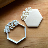 Floral Hexagon Cookie Cutter/Dishwasher Safe