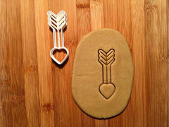 Arrow Heart Cookie Cutter/Dishwasher Safe - Sweet Prints Inc.