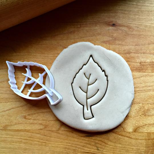 Birch Leaf Cookie Cutter/Dishwasher Safe