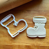 Santa Boot Cookie Cutter/Dishwasher Safe