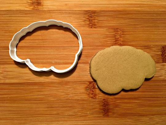 Brain Cookie Cutter/Dishwasher Safe