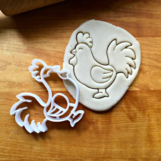 Chicken Cookie Cutter/Dishwasher Safe
