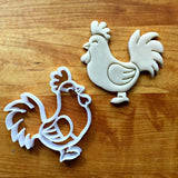 Rooster Cookie Cutter/Dishwasher Safe