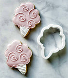Cotton Candy Cookie Cutter/Dishwasher Safe