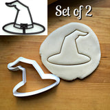 "Set of 2 Witch""s Hat Cookie Cutters/Dishwasher Safe"