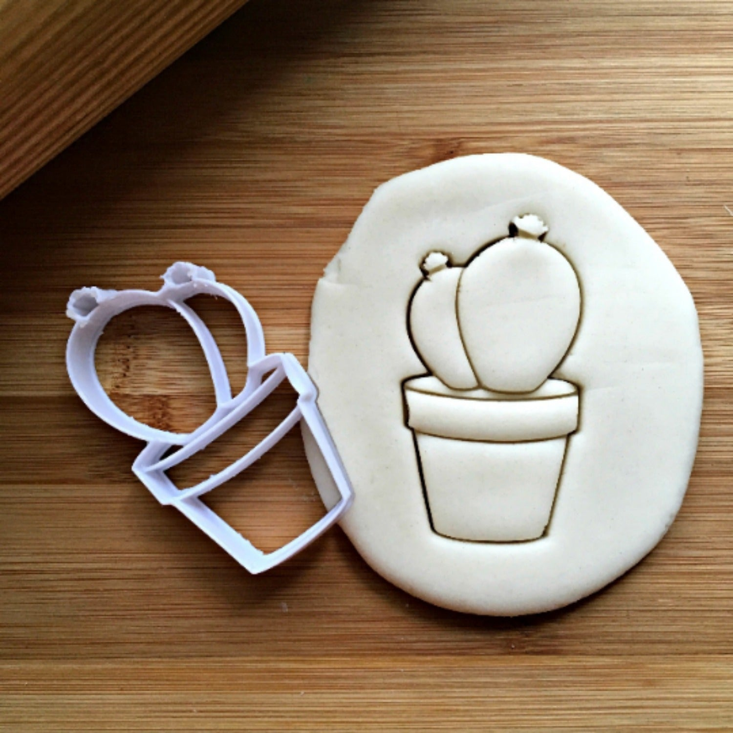 Double Cactus Cookie Cutter/Dishwasher Safe