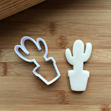 Tall Cactus Cookie Cutter/Dishwasher Safe