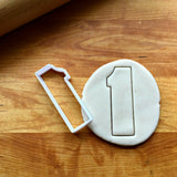 Number 1 Cookie Cutter/Dishwasher Safe