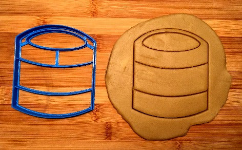 Paint Can Cookie Cutter in Multiple Sizes