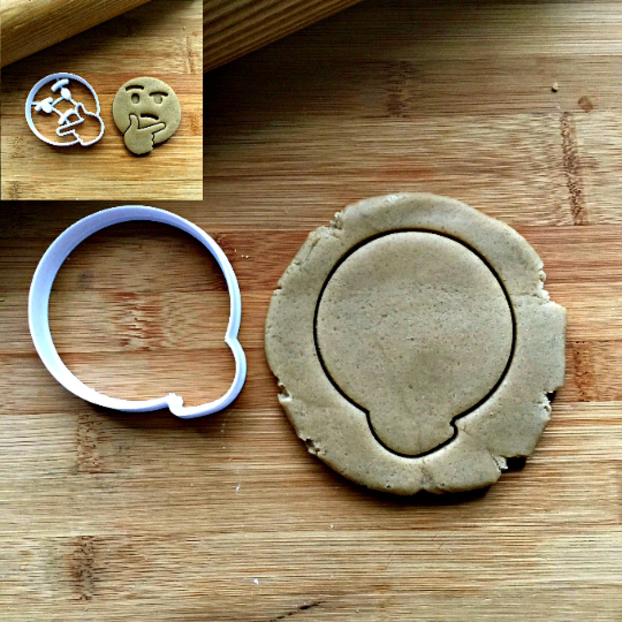 Think Emoji Cookie Cutter/Dishwasher Safe