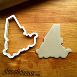 Lettered Number 4 Cookie Cutter/Dishwasher Safe