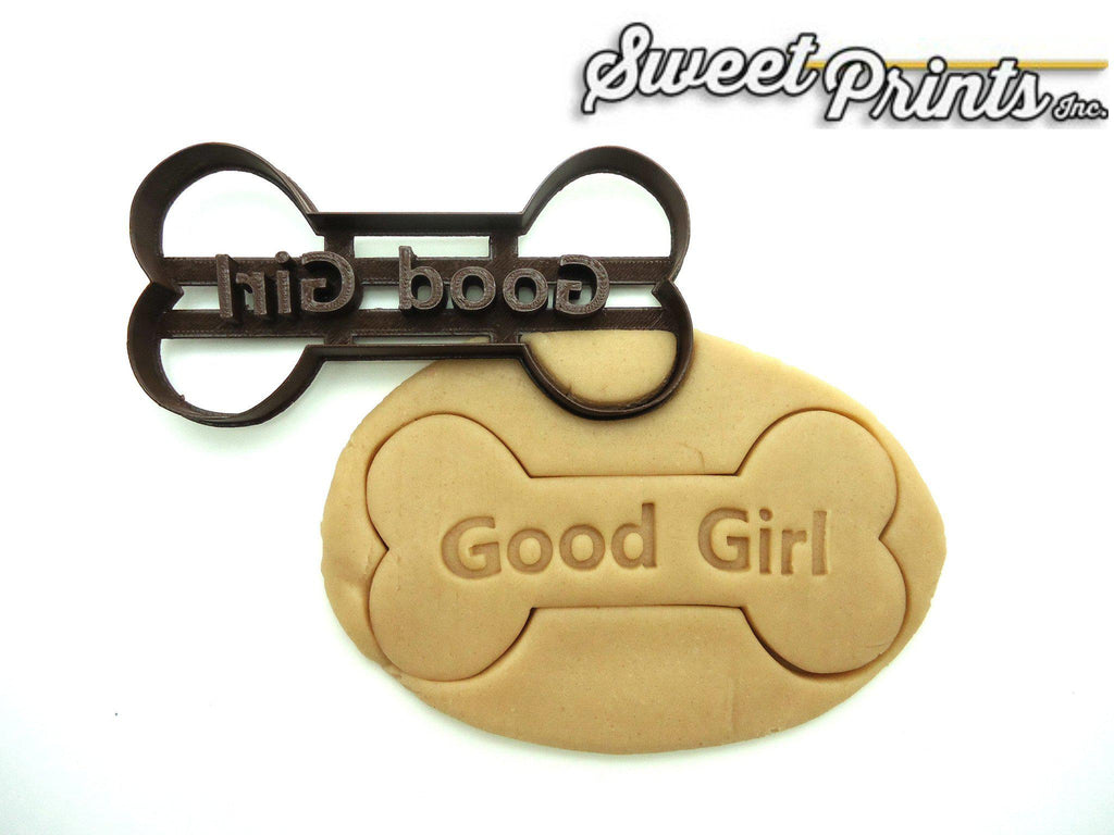 Good Girl Dog Bone Cookie Cutter