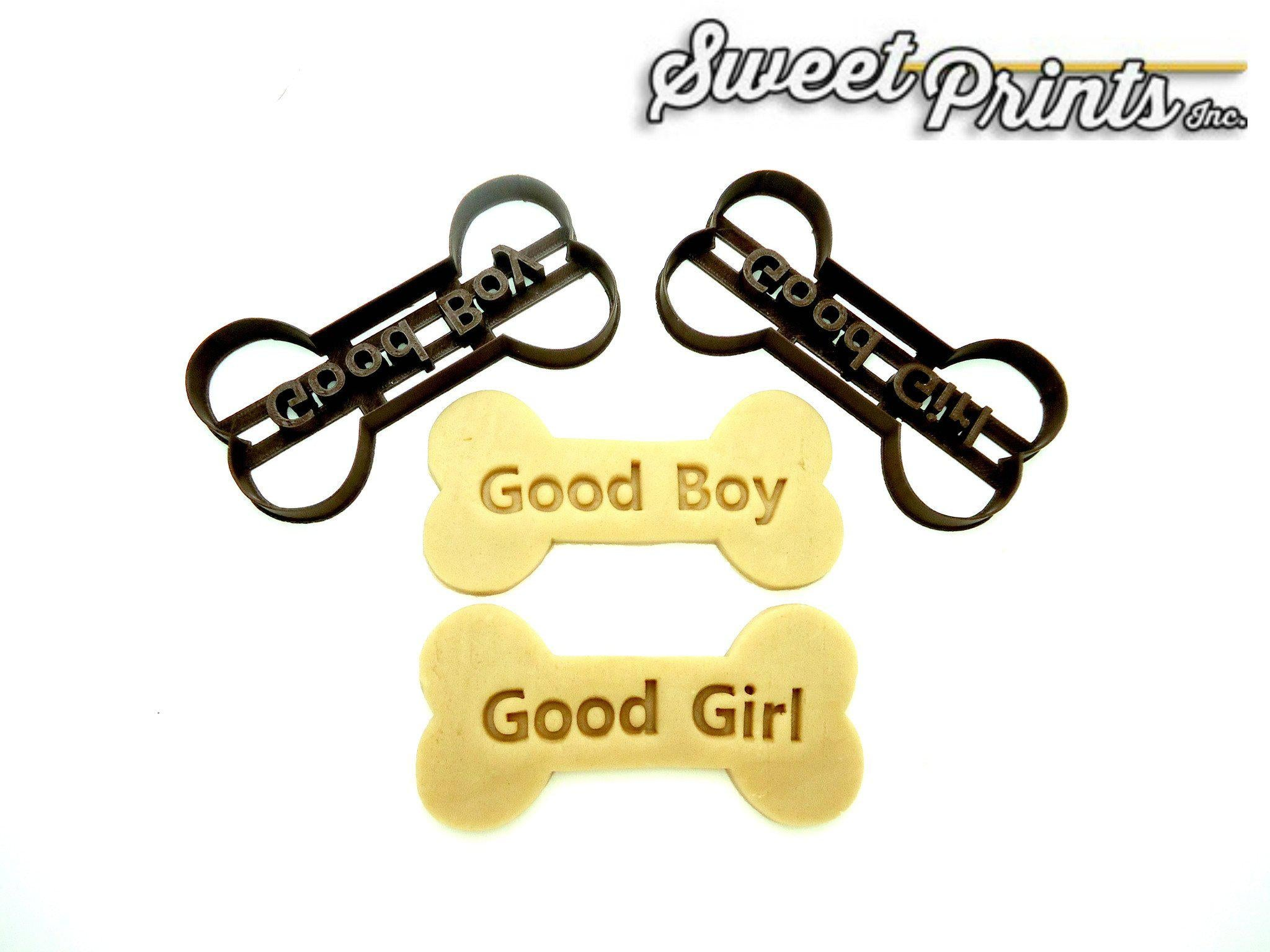 Set of 2 Dog Bones Cookie Cutter