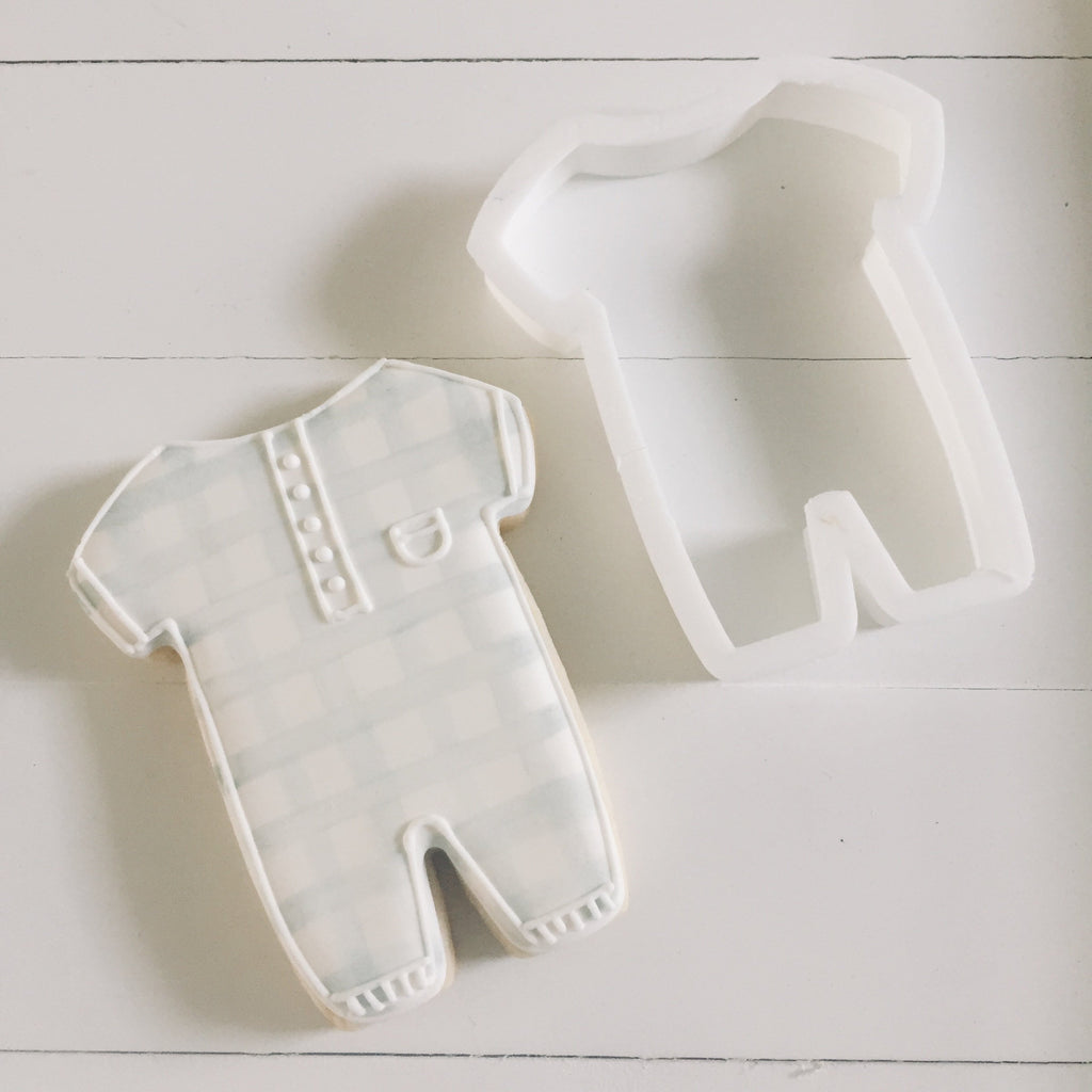 Baby Romper Cookie Cutter/Dishwasher Safe