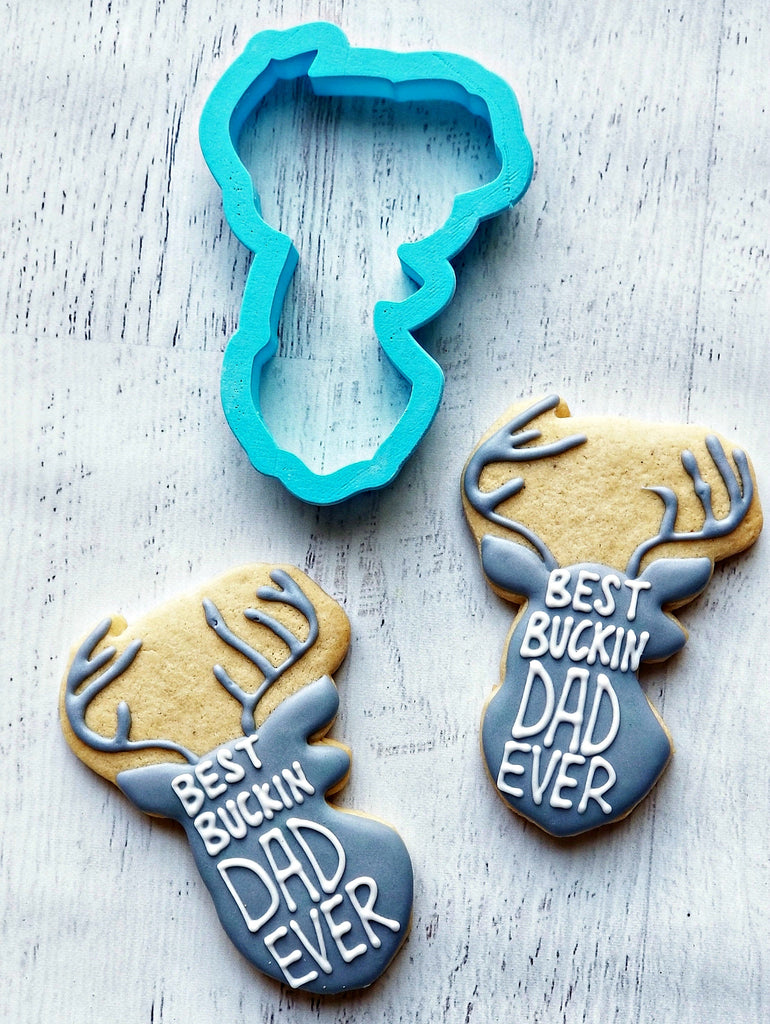 Buck Cookie Cutter/Dishwasher Safe