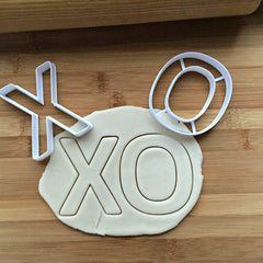 Set of 2 Tic Tac Toe Cookie Cutters/Creates an Imprint of the Center/Dishwasher Safe
