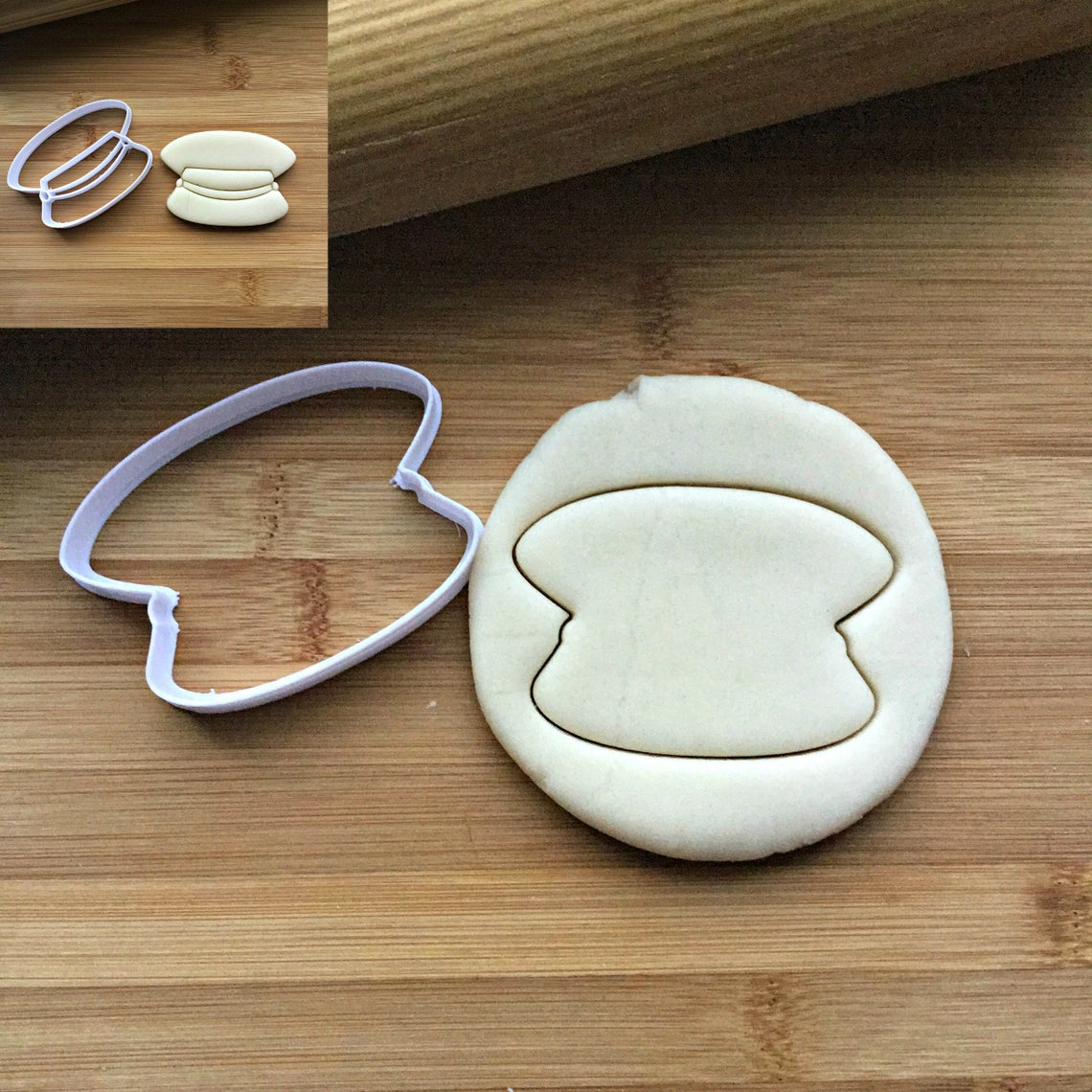 "3"" Captain's Hat Cookie Cutter/Clearance"