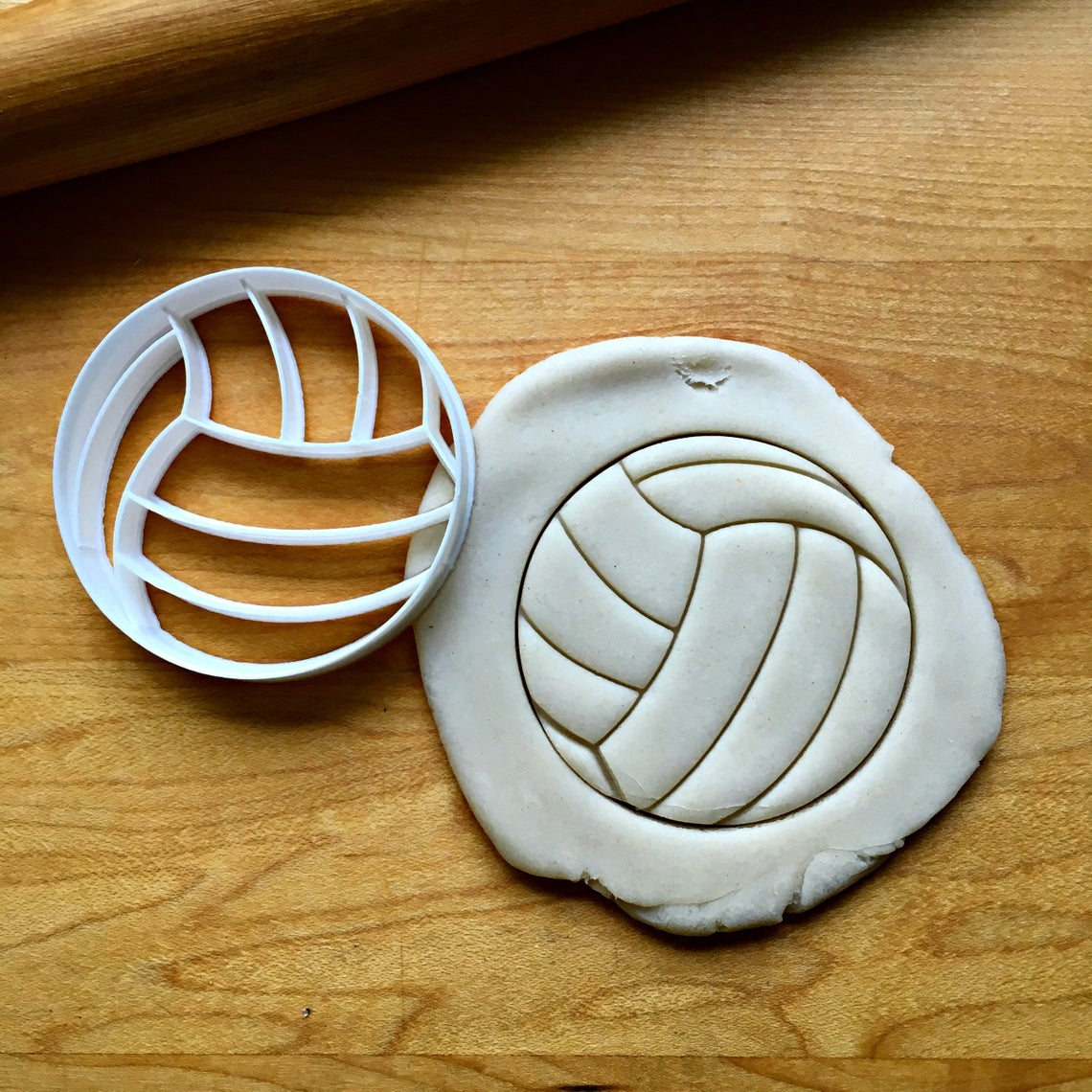 Volley Ball Cookie Cutter/Dishwasher Safe