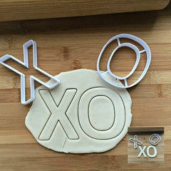 Set of 2 Tic Tac Toe Cookie Cutters/Creates a Cutout of the Center/Dishwasher Safe