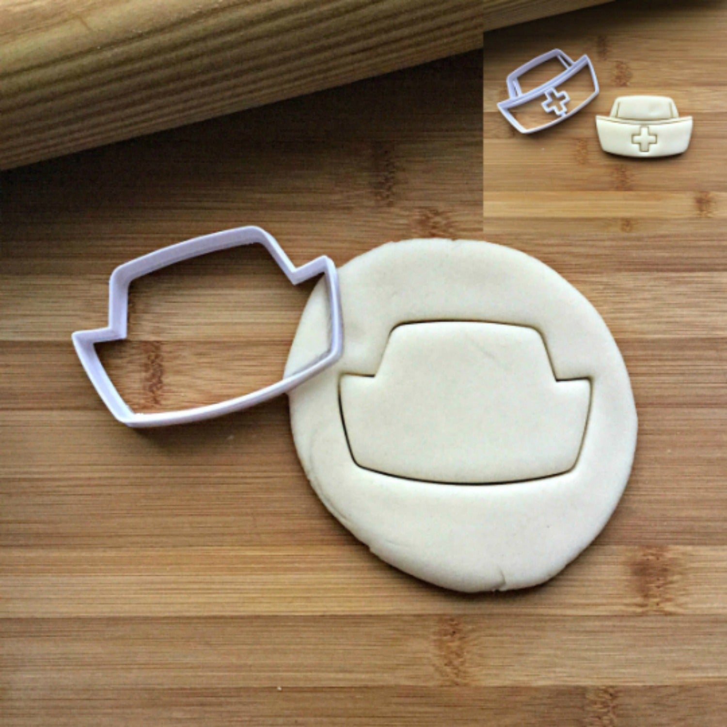 Nurse Cap Cookie Cutter/Dishwasher Safe