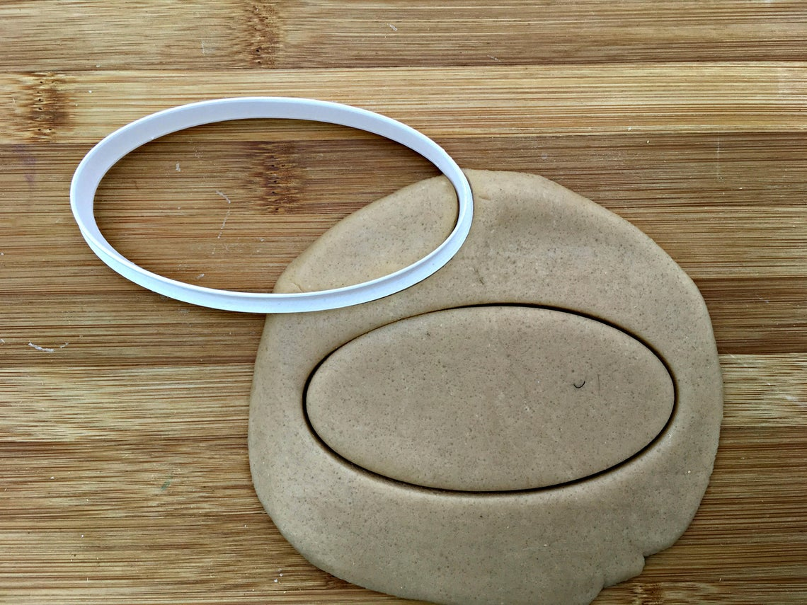 Oval Cookie Cutter/Dishwasher Safe