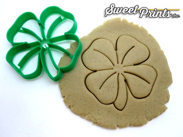 Shamrock/Four Leaf Clover Cookie Cutter/Dishwasher Safe