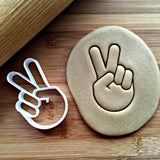 Peace Sign Cookie Cutter/Dishwasher Safe