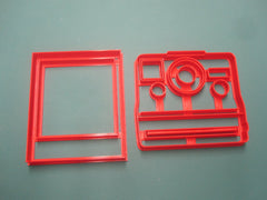 Camera and Film Cookie Cutters/Multi-Size