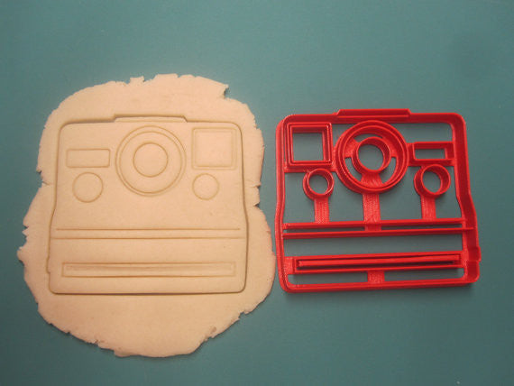 Polaroid Camera Cookie Cutter/Multi-Size