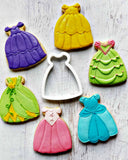 Princess Dress Cookie Cutter/Dishwasher Safe