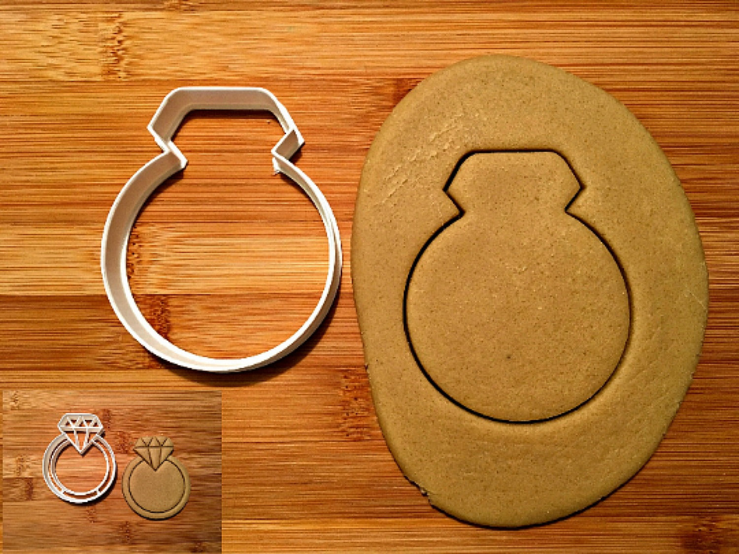 Diamond Ring Cookie Cutter/Dishwasher Safe