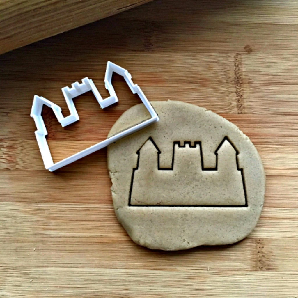 Sand Castle Cookie Cutter/Dishwasher Safe