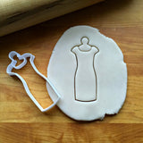 Slim Dress Cookie on Hanger Cutter/Dishwasher Safe