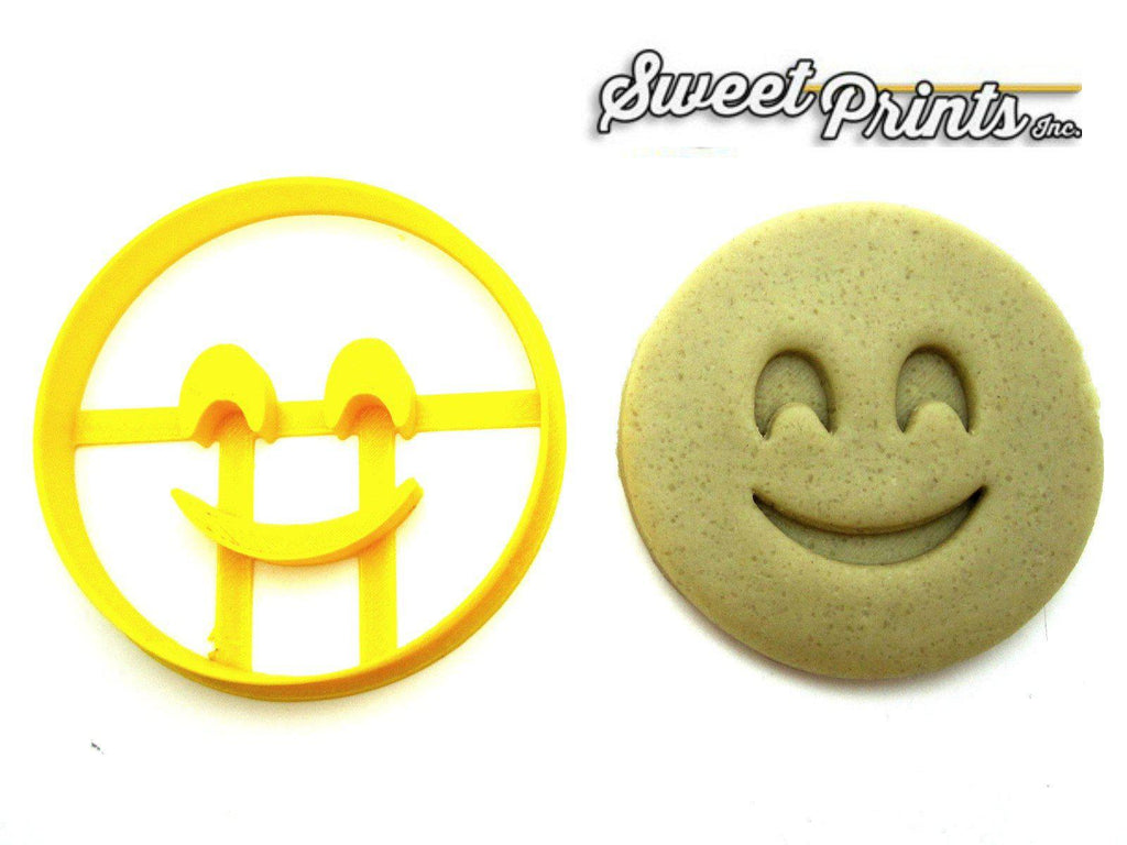 Smiling Face Emoji Cookie Cutter