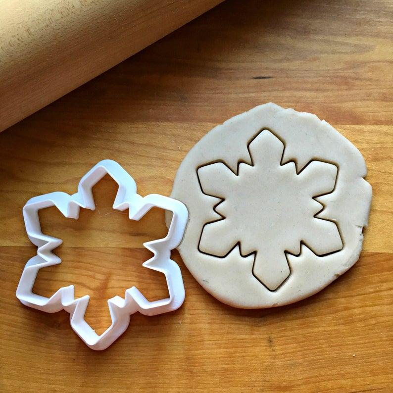 Snowflake Cookie Cutter/Dishwasher Safe