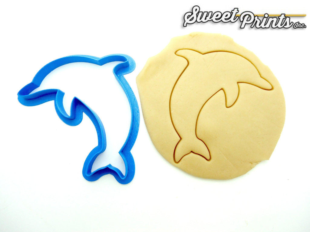 Dolphin Cookie Cutter Outline/Multi-Size