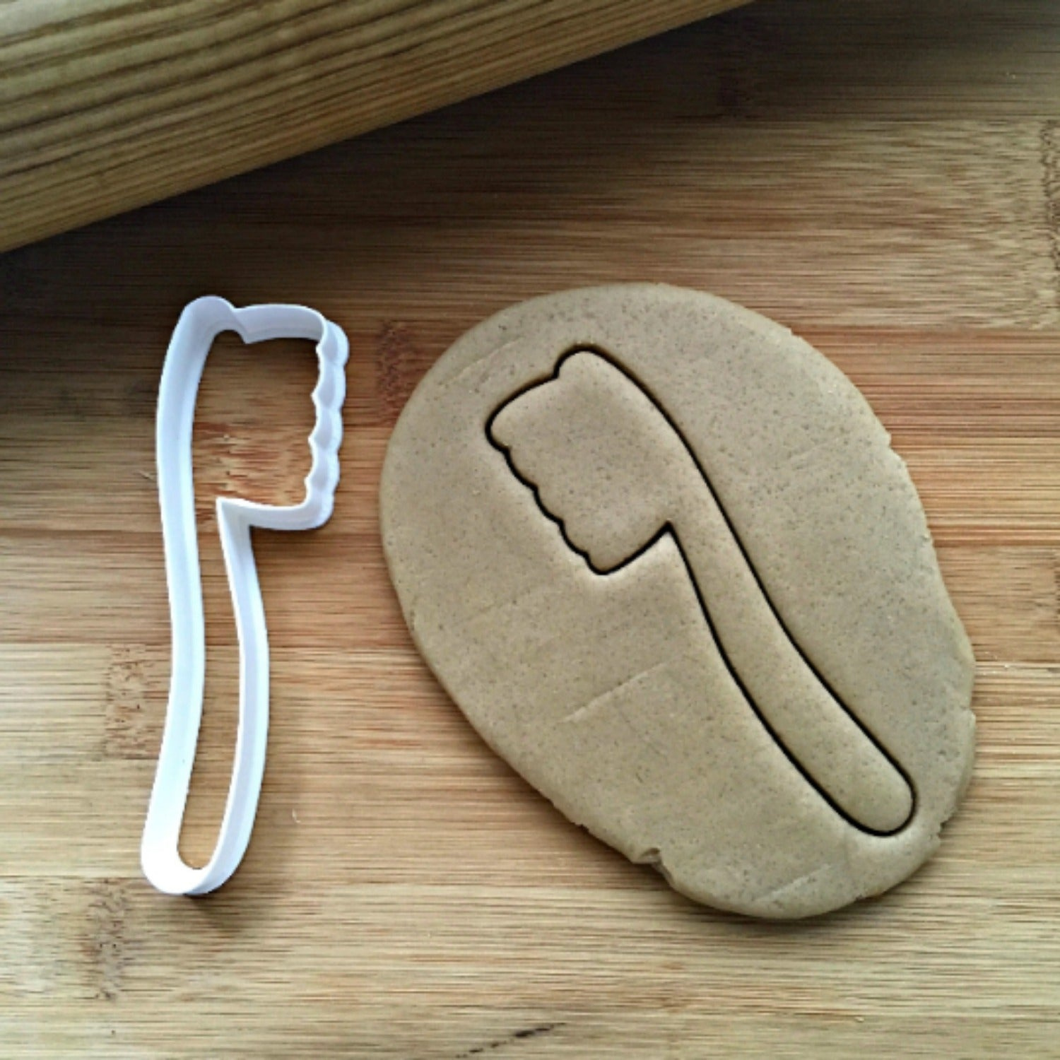 Toothbrush Cookie Cutter/Dishwasher Safe