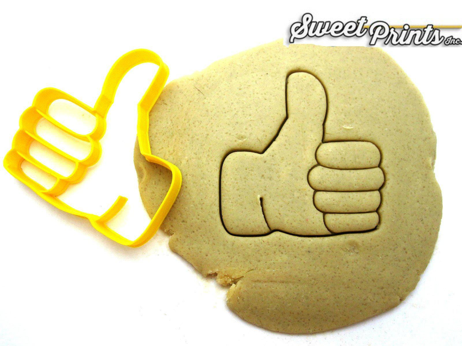 Thumbs Up Emoji Cookie Cutter