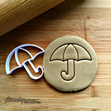Umbrella Cookie Cutter/Dishwasher Safe