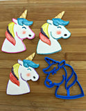 Unicorn Cookie Cutter/Dishwasher Safe