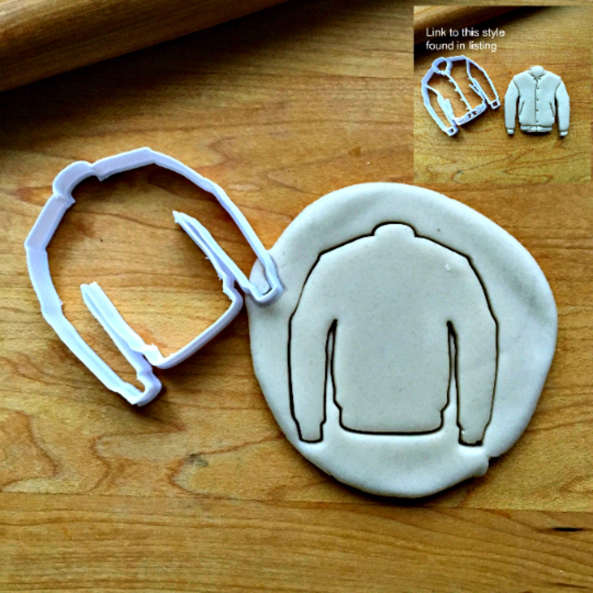 Varsity Jacket Cookie Cutter/Dishwasher Safe