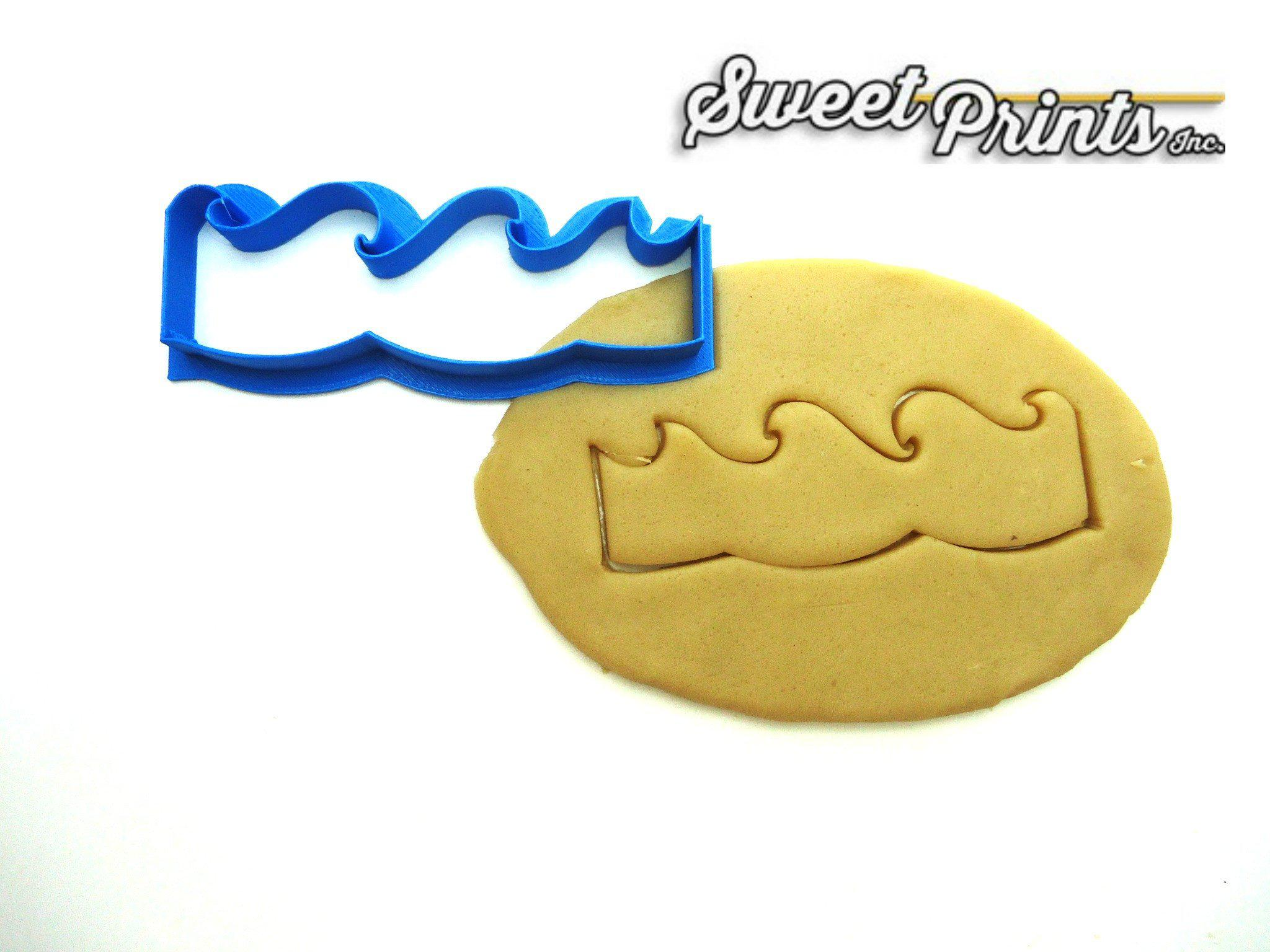 Wave Cookie Cutter