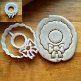 Wreath Cookie Cutter/Dishwasher Safe/Creates a Center Cut-Out