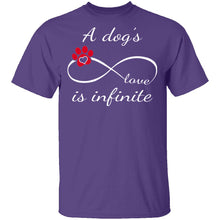 A Dog's Love Is Infinite T-Shirt